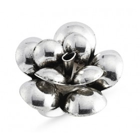 Сребърен пръстен Цвете